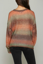 Fate Multi colored, light weight sweater - Front full body