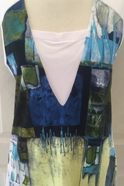 Simply art by Dolcezza Multi-colored sleeveless tunic top - Product Mini Image