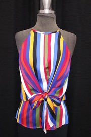 Do & Be Multi-Colored Stripe Top - Product Mini Image