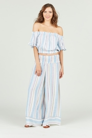 Vintage Havana Multi Colored Striped Wide Leg Pant - Product Mini Image