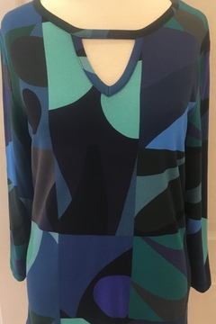 Lynn Ritchie Multi-colored tunic top - Product List Image