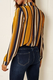 frontrow Multi-Colour Striped Shirt - Front full body