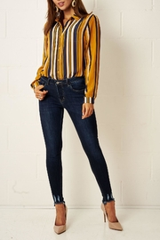 frontrow Multi-Colour Striped Shirt - Side cropped