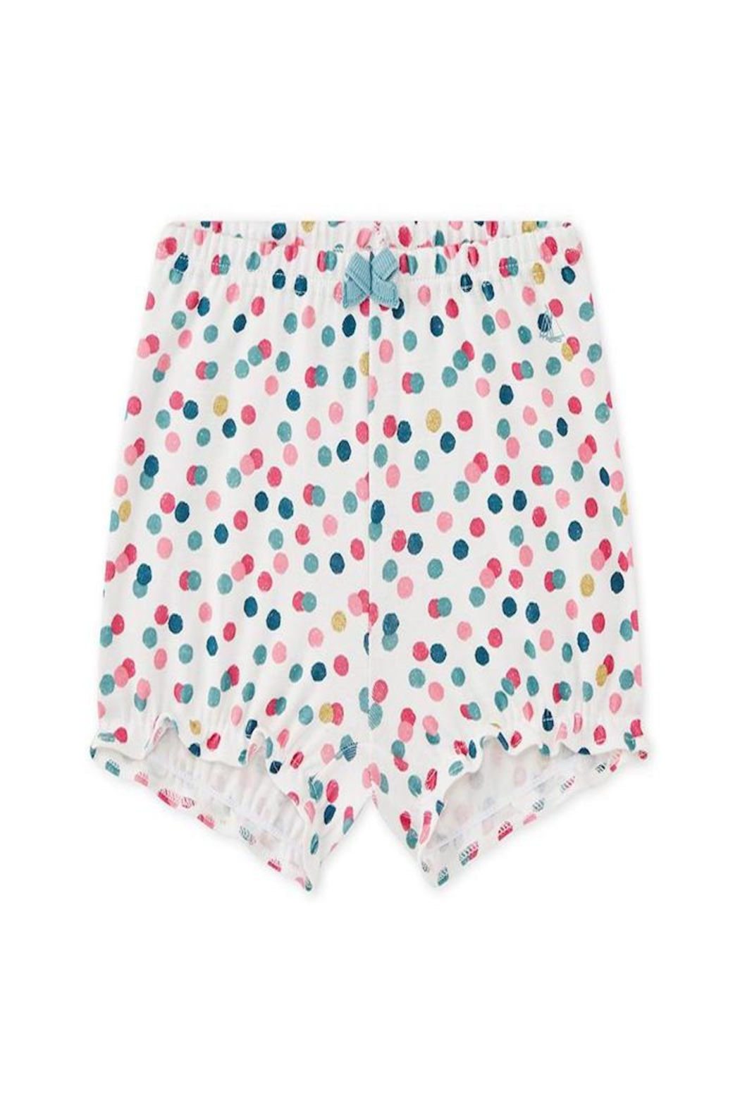 Petit Bateau Multi-Dot Bloomers - Front Cropped Image