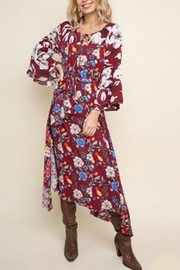 Umgee USA Multi-Floral Maxi Dress - Product Mini Image