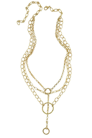 Maison A Multi Layer Chain Necklace - Product Mini Image