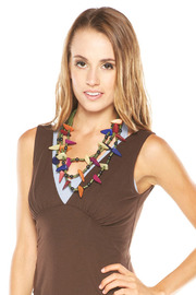 Creative Treasures Multi-Layered Necklace - Front cropped
