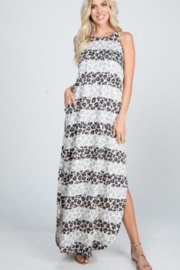 Heimish Multi Leopard Dress - Front cropped