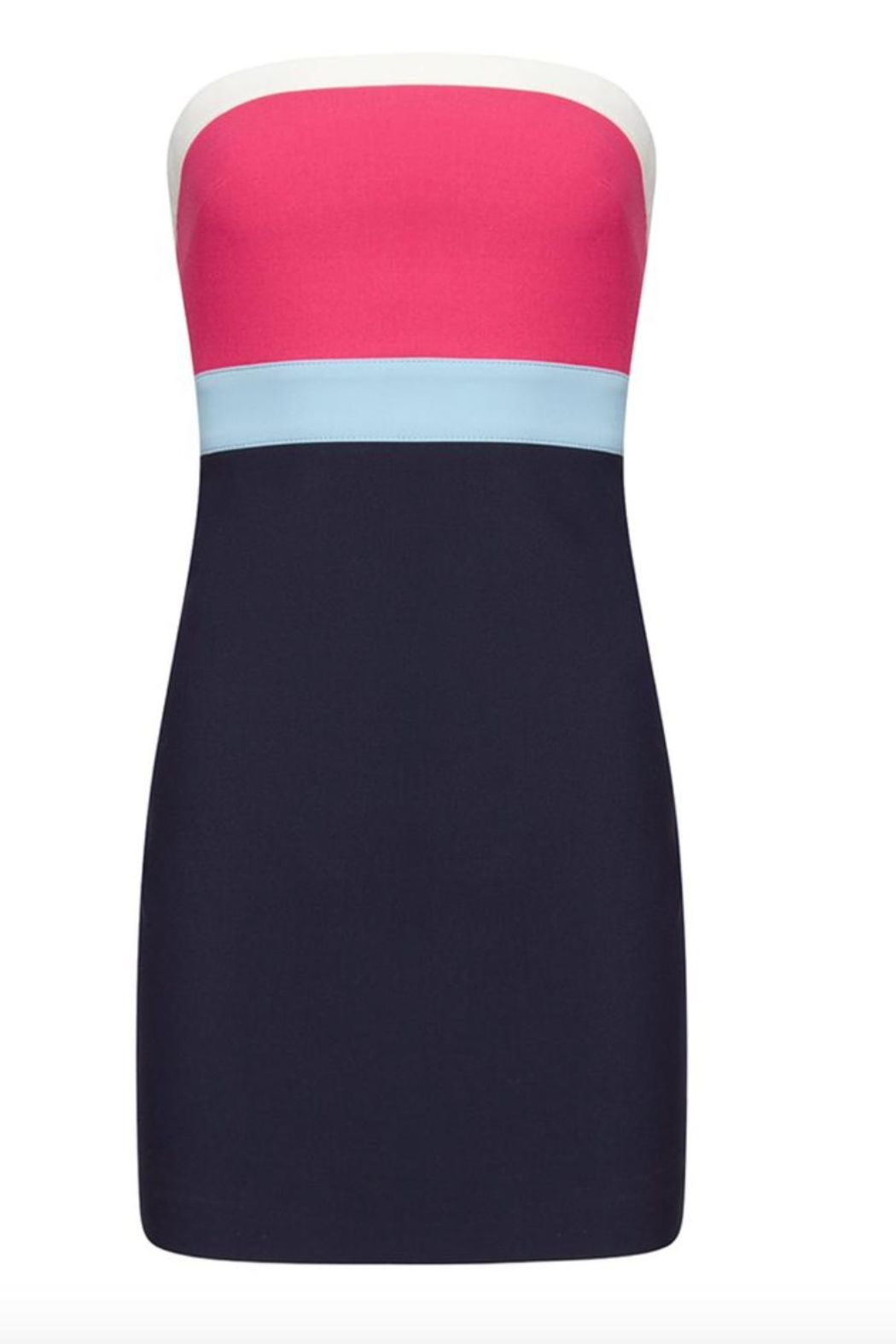 LIKELY Multi Marena Dress - Side Cropped Image