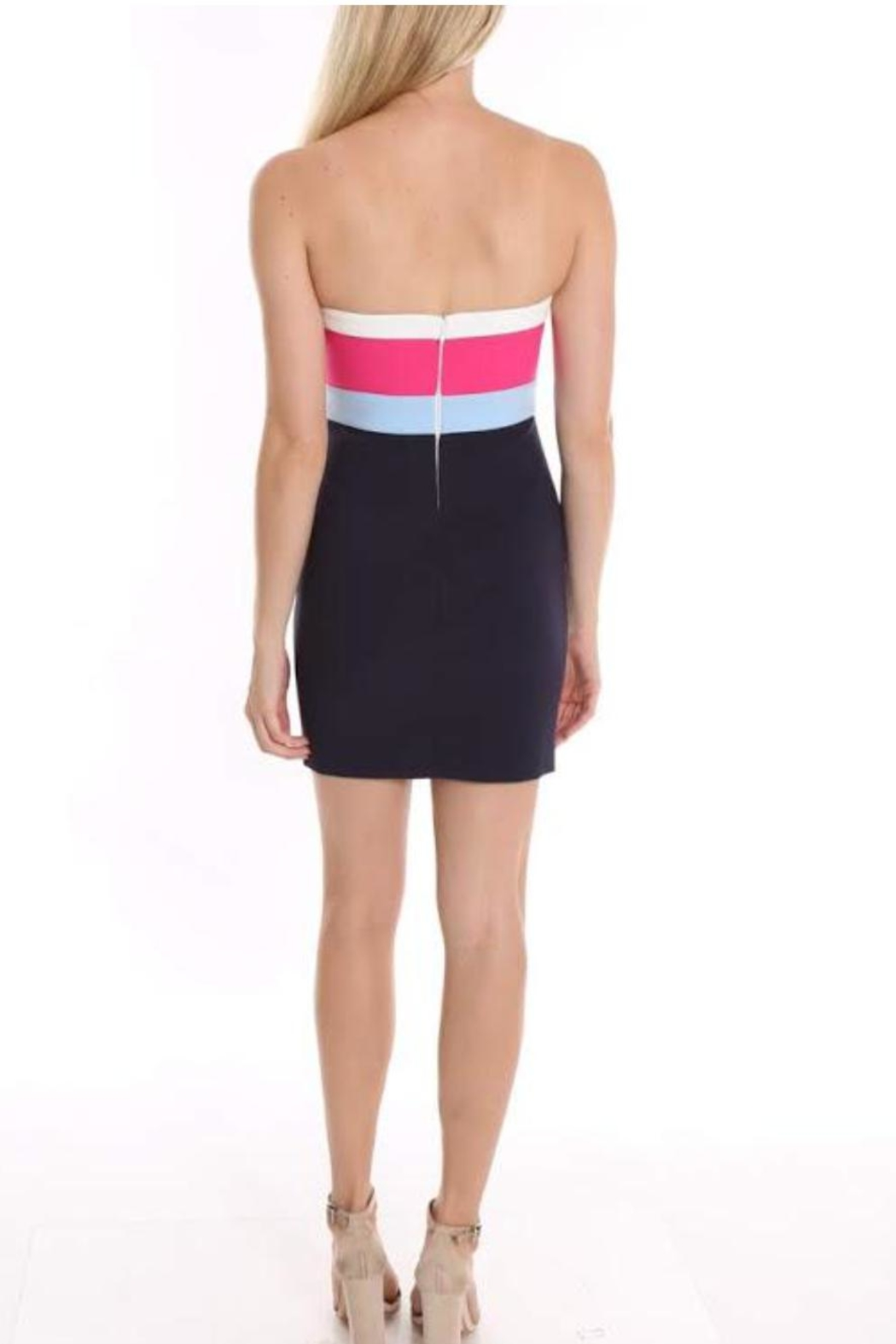 LIKELY Multi Marena Dress - Front Full Image