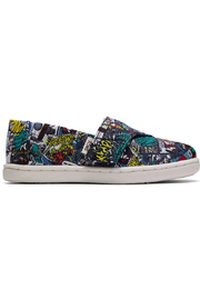 TOMS Multi MARVEL Comic Pop Print Tiny - Front cropped