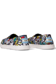 TOMS Multi MARVEL Comic Pop Print Youth Classics - Side cropped