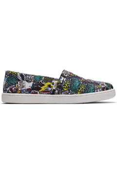 TOMS Multi MARVEL Comic Pop Print Youth Classics - Product List Image
