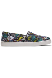 TOMS Multi MARVEL Comic Pop Print Youth Classics - Front cropped
