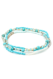 Anarchy Street Multi-mixed Beaded Crystal Bracelet - Product Mini Image