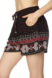 New Mix Multi Pattern Short - Front full body