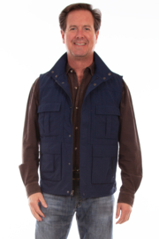 Scully Multi-Pocket Vest - Front cropped
