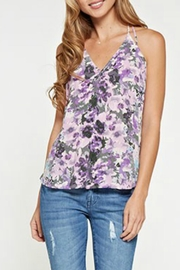 Love Stitch Multi Print Halter - Product Mini Image