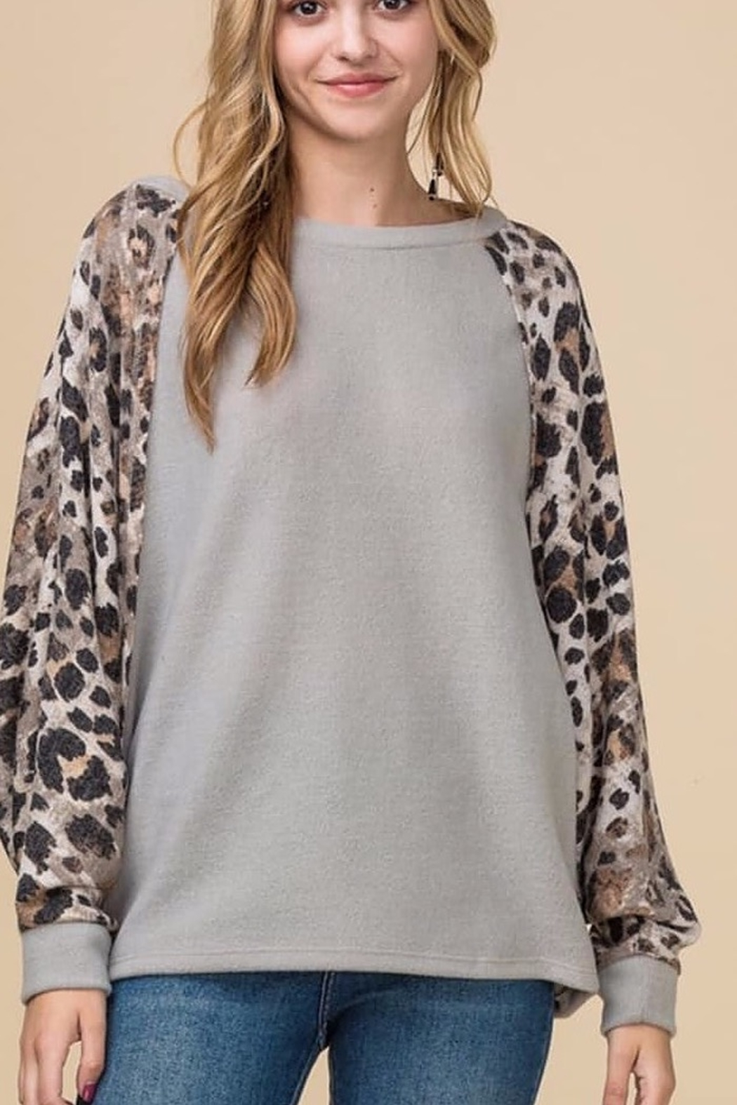 Entro Multi-Print Top - Front Cropped Image