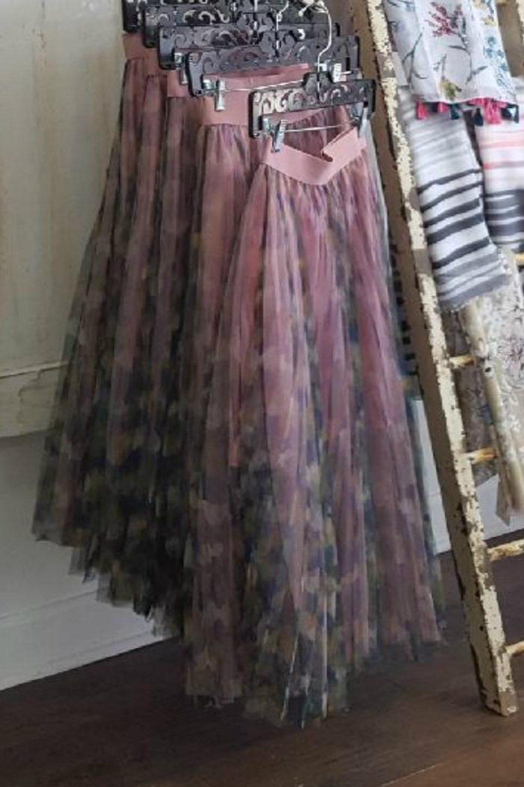 Molly Bracken Multi/print Tulle Skirt - Front Full Image