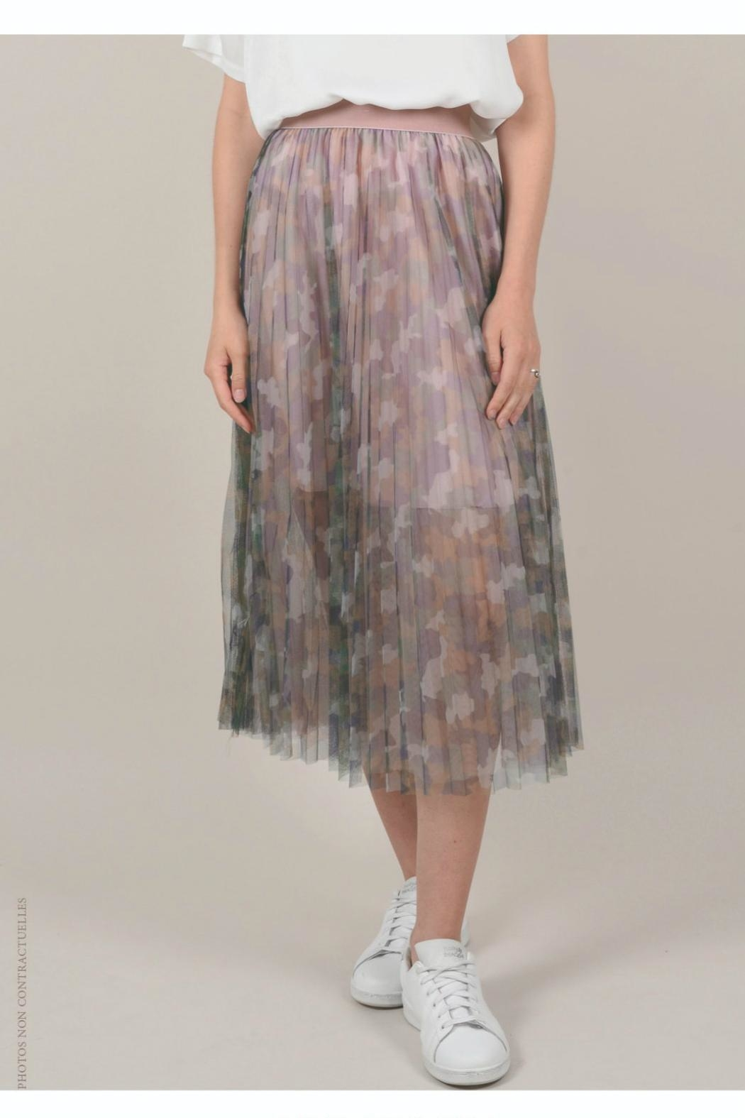 Molly Bracken Multi/print Tulle Skirt - Main Image
