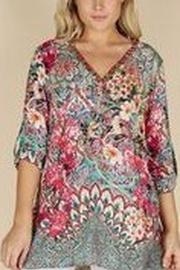 Lula Soul Multi-Print Tunic Top - Product Mini Image