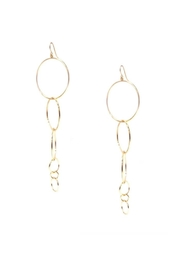 Marlyn Schiff Multi-Ring Drop Earring - Front cropped