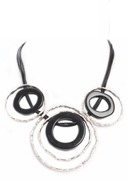 Alisha D Multi Ring Necklace - Product Mini Image