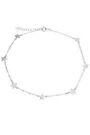 Lets Accessorize Multi-Star Anklet - Product Mini Image
