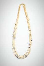 Embellish Multi-Strand Bead Necklace - Product Mini Image