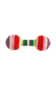 anne-claire petit Multi-Stripe Baby Rattle - Product List Image