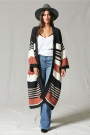 By Together Multi Stripe Cardigan - Product Mini Image