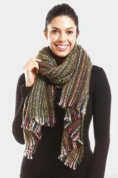 Lets Accessorize Multi-Stripe Scarf - Product List Image