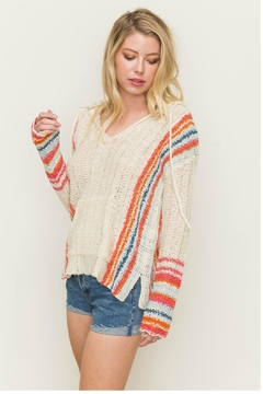 Towne Multi Stripe Sweater - Product List Image
