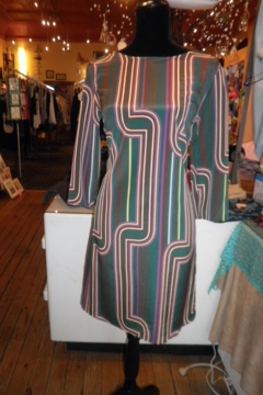 My Beloved Multi Striped Dress - Product List Image