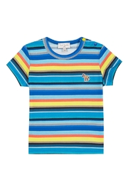 Paul Smith Junior Multi-Striped Tam T.Shirt - Front cropped