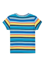Paul Smith Junior Multi-Striped Tam T.Shirt - Front full body