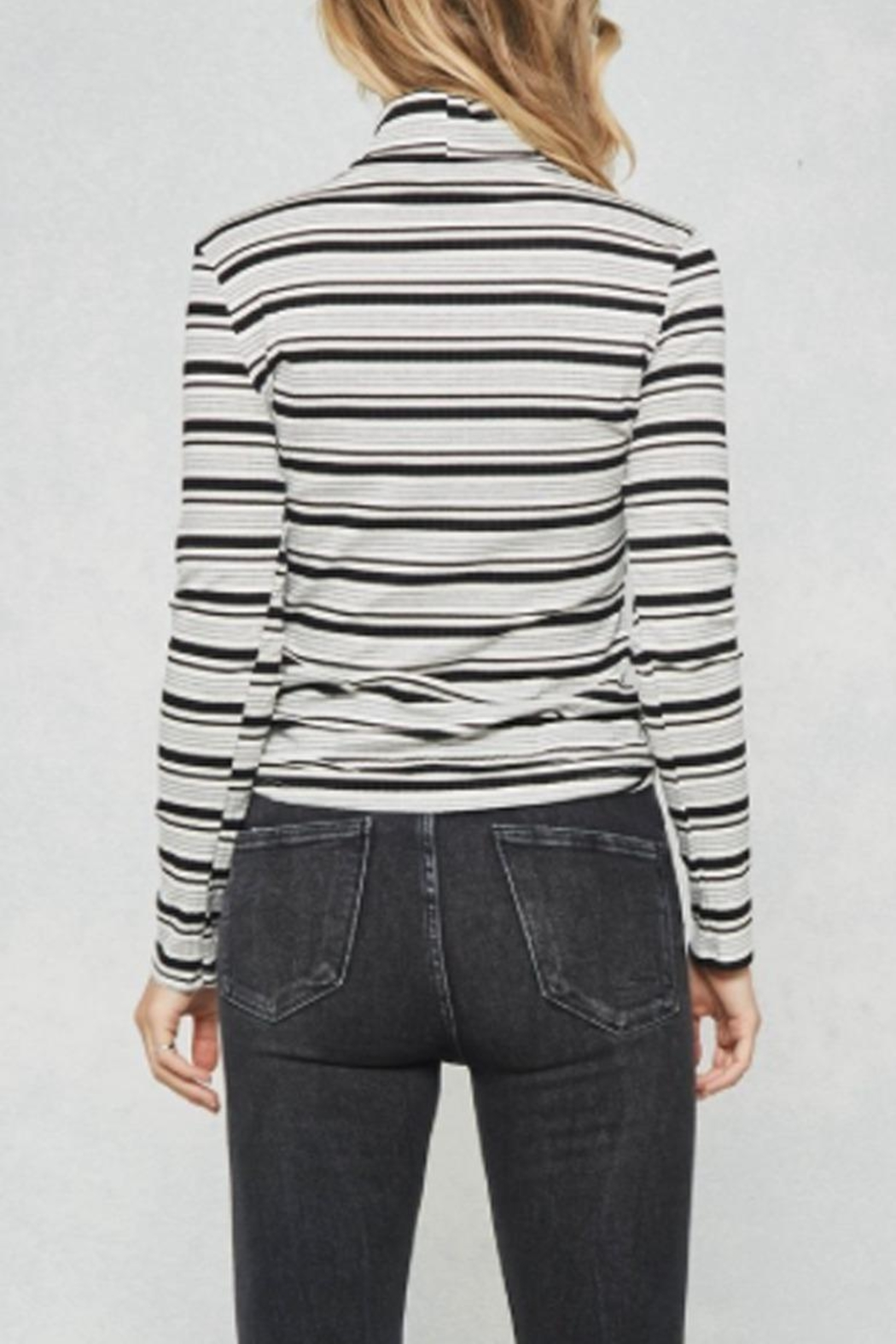 Promesa Multi Striped Top - Side Cropped Image