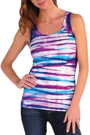 Tees by Tina Multi Tyedie Tank - Front cropped