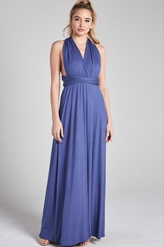 blue blush Multi-Way Maxi Dress - Product List Image
