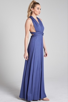 blue blush Multi-Way Maxi Dress - Alternate List Image