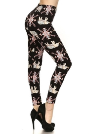 New Mix Multicolor Elephant Legging - Product Mini Image