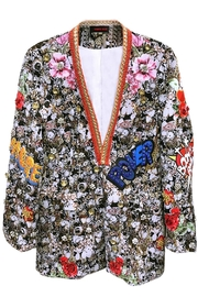 Fashion Week Multicolor Embellished Blazer - Product Mini Image