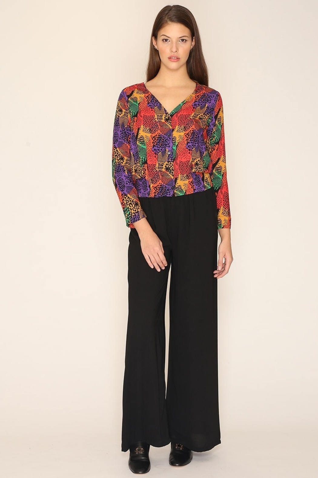 PepaLoves Multicolor Jackie Shirt - Side Cropped Image