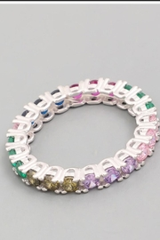 Runway & Rose Multicolor Jem Ring - Front cropped