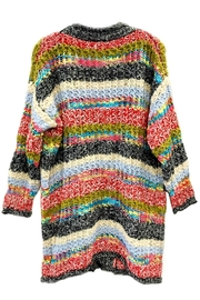 ANTONELLO SERIO Multicolor Maxi Cardigan - Front full body