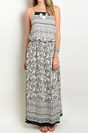 People Outfitter Print Maxi Dress - Product Mini Image