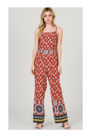 Polly & Esther Multicolor Print Jumpsuit - Product Mini Image