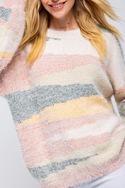 &merci Multicolor Stripe Sweater - Product Mini Image
