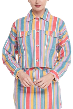 Shoptiques Product: Multicolor Striped Jacket